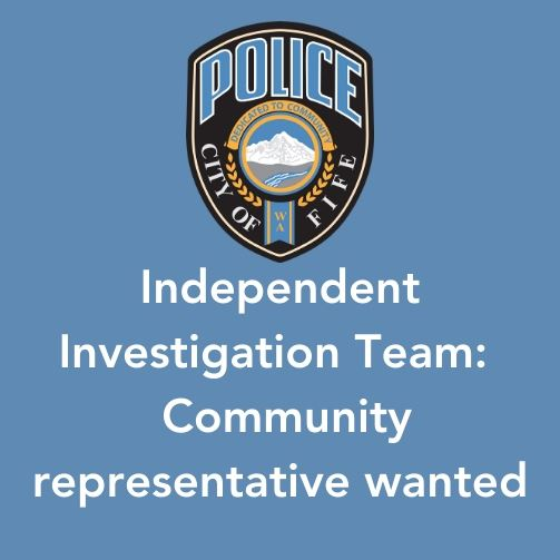 Independent Investigation Team Community Representative