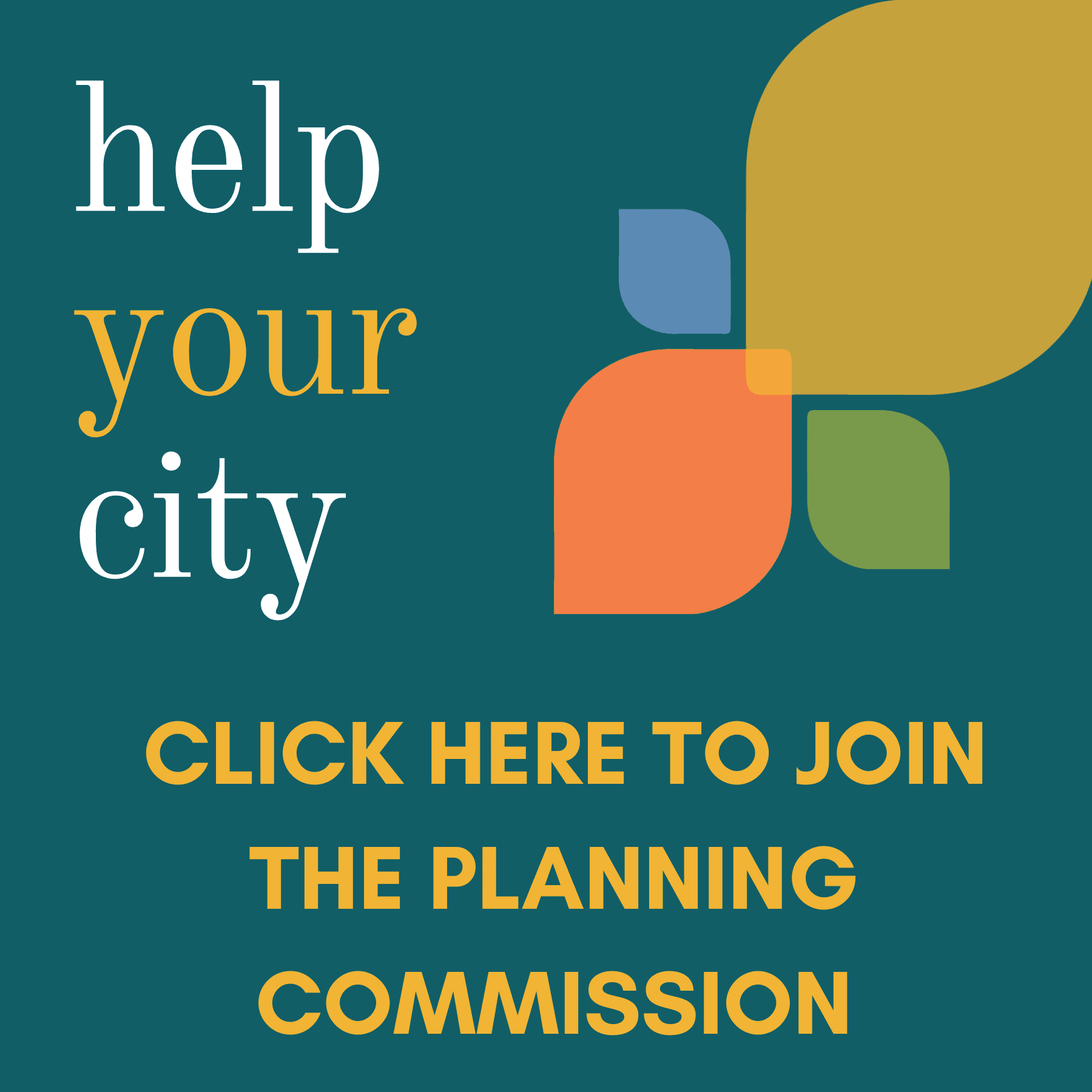 Planning commission join button